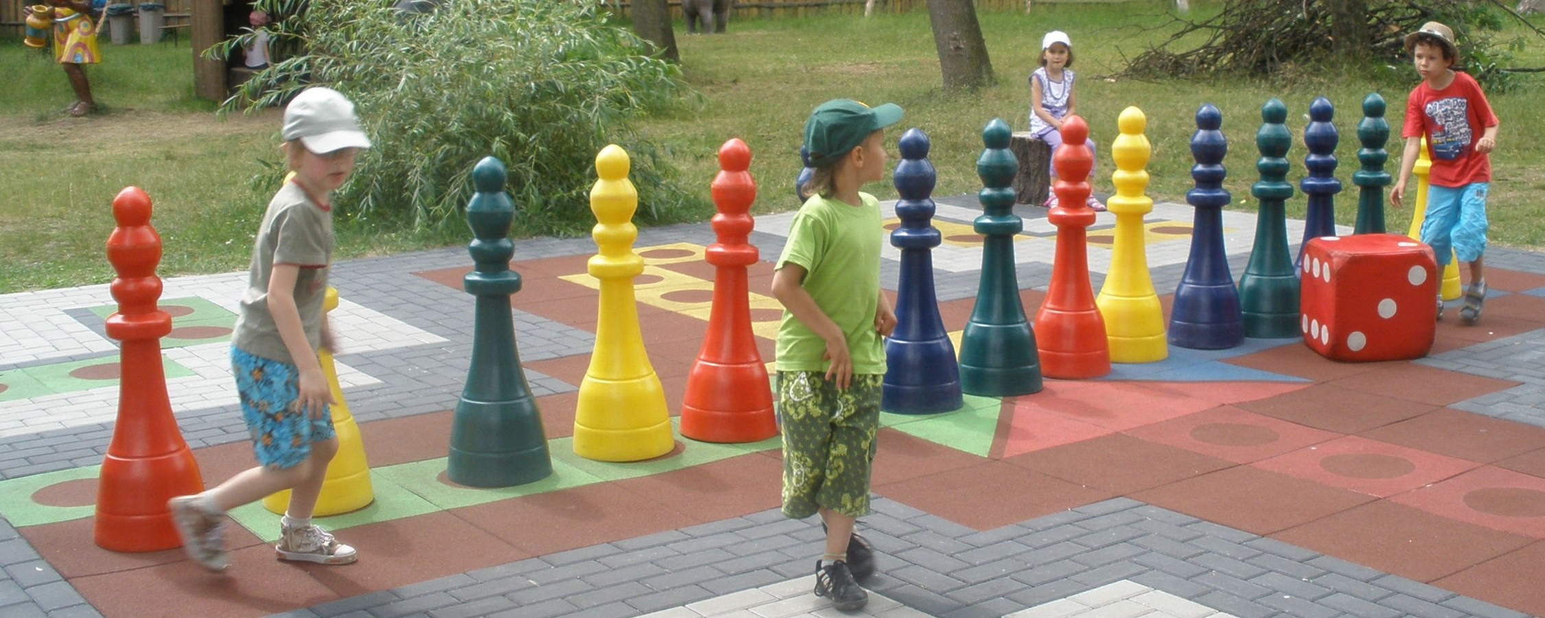 Sales offer for civic government- outdoor games and playgrounds