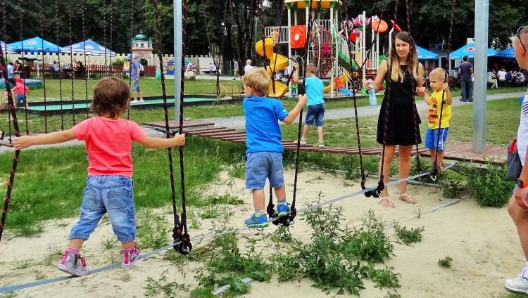 Bezobsługowy Park Linowy TARZAN