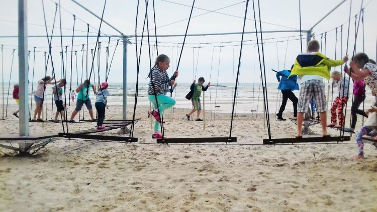 Park na plaży