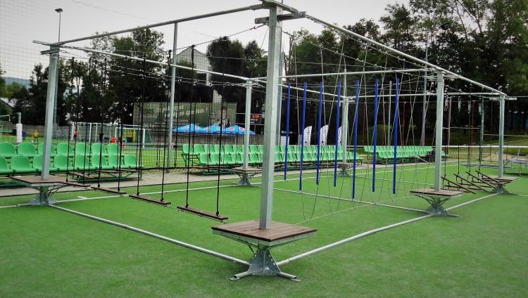 Bezobsługowy Park Linowy
